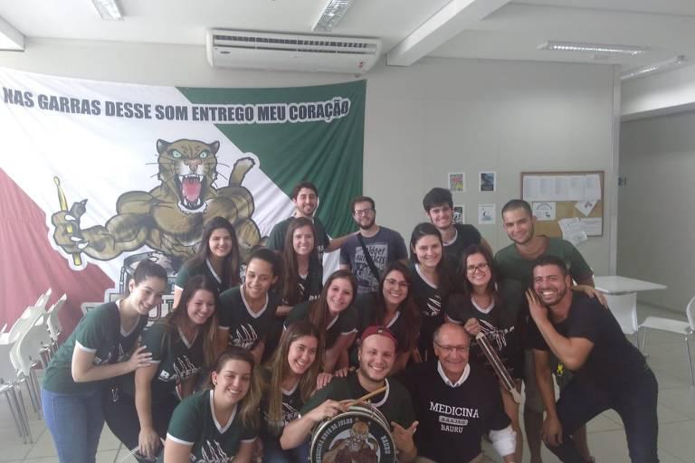 Após eleição, Alckmin dá palestra para alunos de medicina no interior de SP
