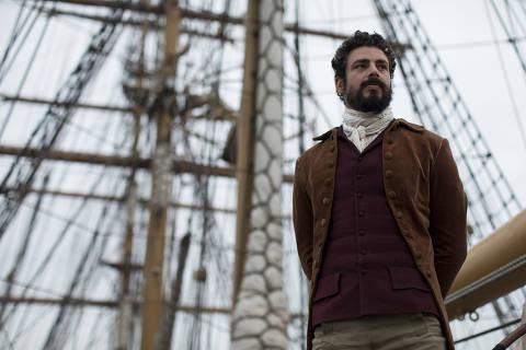Pedro, filme da diretora Lais Bodanzky, conta a historia do primeiro Imperador do Brasil ( interpretado por Cauã Reymond)-- ILUSTRADA EXCLUSIVO