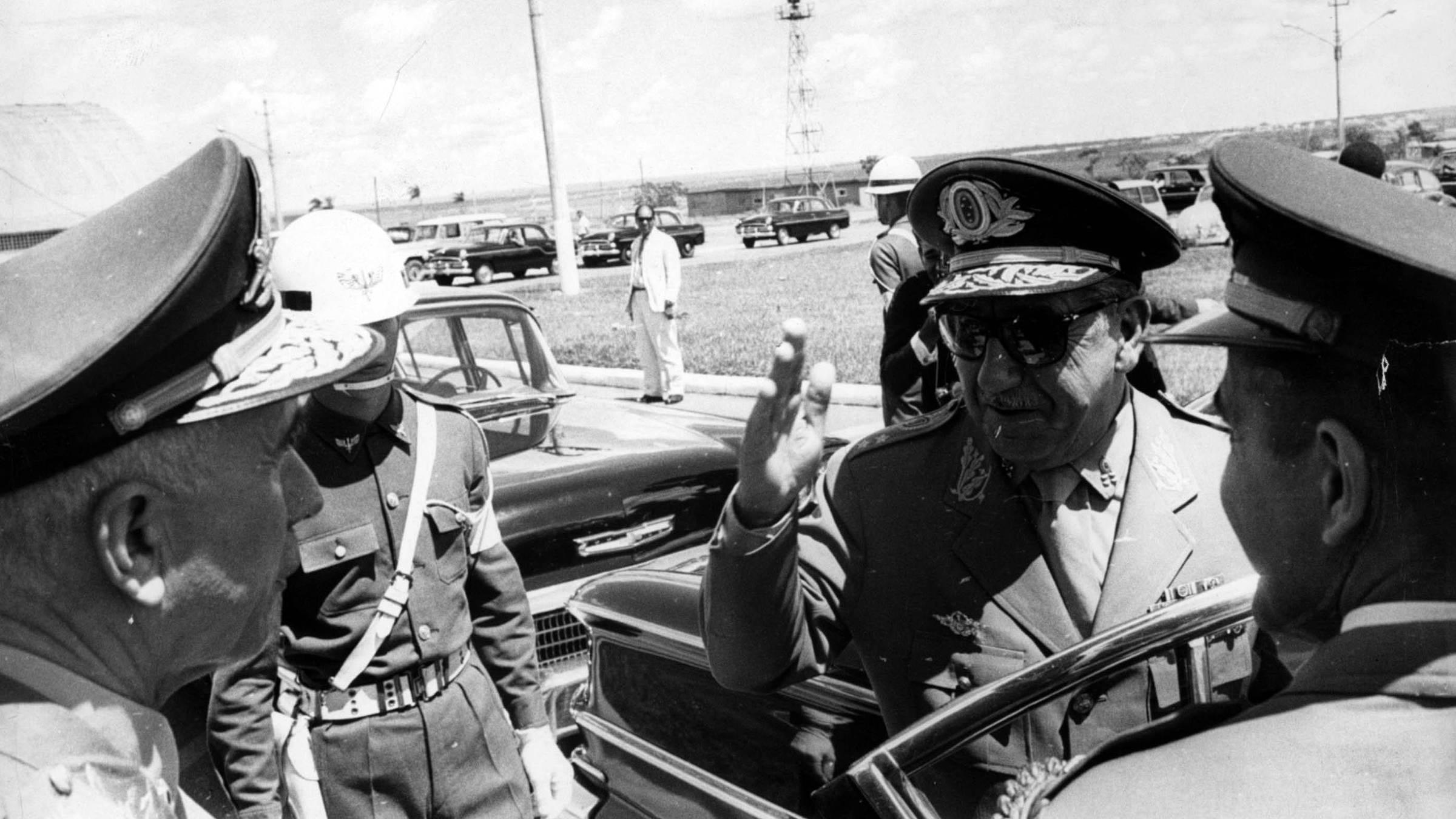 Arthur da Costa e Silva em Brasília em 1966. Foto: Folhapress