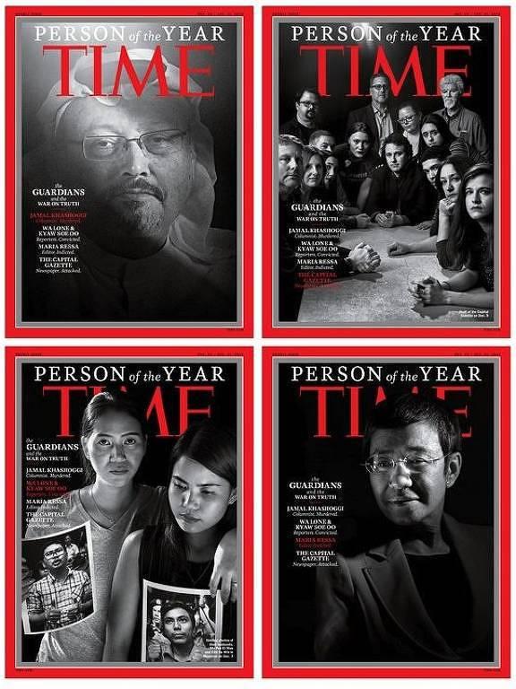 Personalidade de 2018 da Time