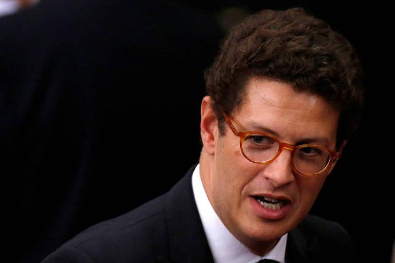 O novo ministro do Meio Ambiente, Ricardo Salles