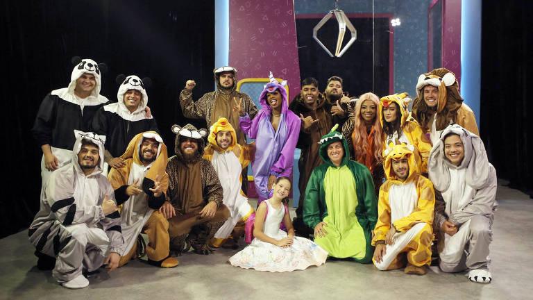 Abertura do próximo Caldeirão de Ouro vai contar com famosos vestidos de bichos de pelúcia