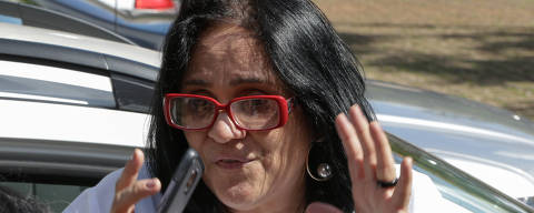 BRASILIA, DF, BRASIL, 11-12-2018, 16h20: A futura ministra da mulher, família e direitos humanos, Damares alves, falou com a imprensa na tarde desta terça-feira (11). Foto: Walterson Rosa/Folhapress, PODER)