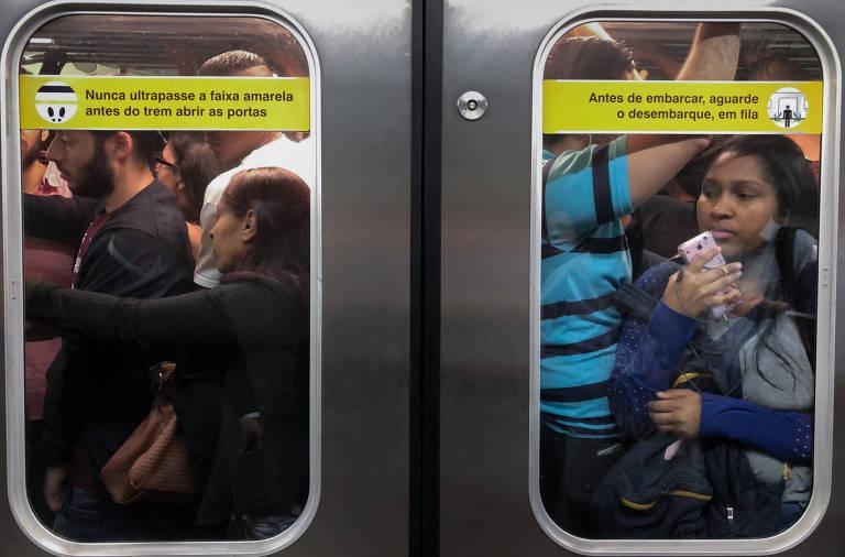 Metrô e CPTM aumentam fatia da mobilidade de SP