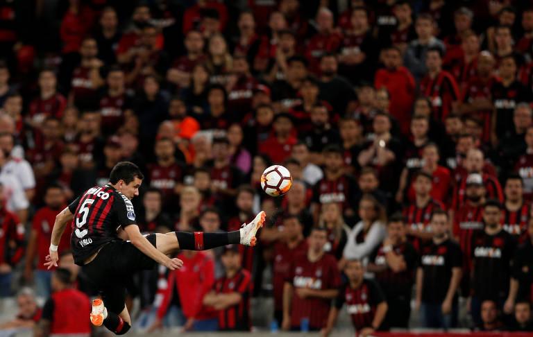 Atacante Pablo, do Atlético-PR