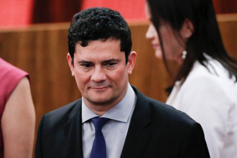 O futuro ministro da Justiça e Segurança Pública, Sergio Moro, durante diplomação do presidente eleito, Jair Bolsonaro (PSL) e seu vice, Hamilton Mourão (PRTB)
