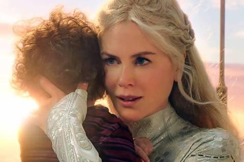 Atlanna: Nicole Kidman interpreta  a rainha de Atlântida, mãe de Aquaman, que se apaixona por um humano