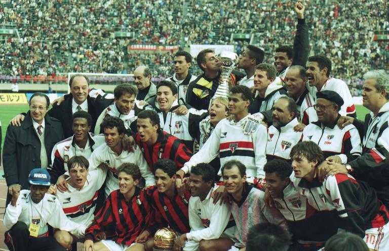 São Paulo x Milan, final do Mundial de 1993