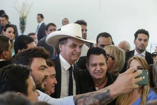 JAIR BOLSONARO/ALMOÇO ARTISTAS/CANTORES SERTANEJOS