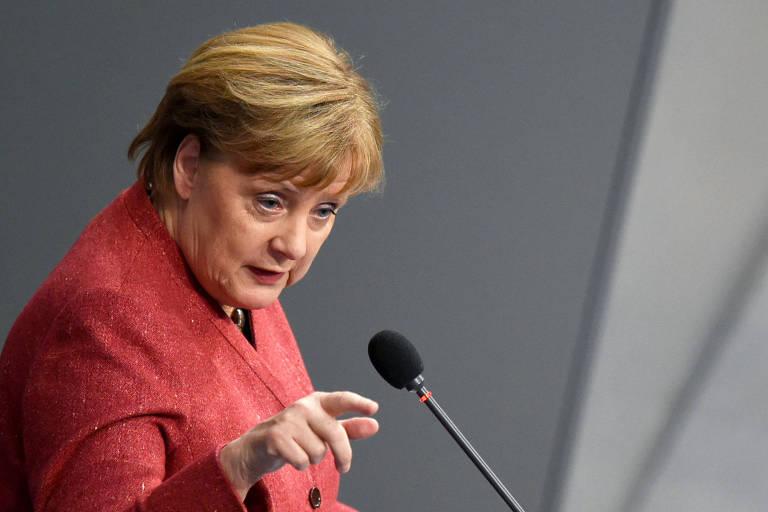 Primeira ministra alemã, Angela Merkel
