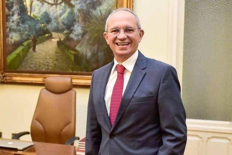 O governador do Espírito Santo, Paulo Hartung (ex-MDB), que lança livro sobre sua gestão