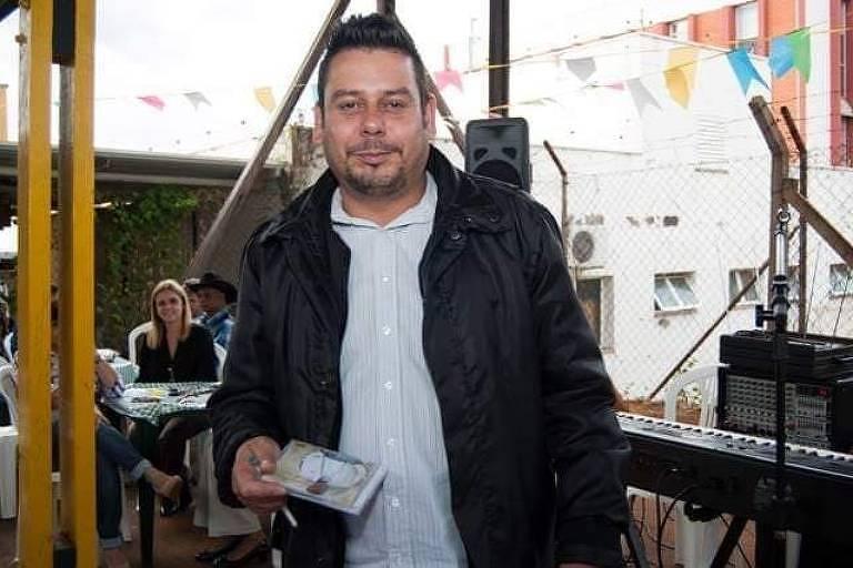 Sidnei Vitor Monteiro, 39, morto no ataque na catedral de Campinas