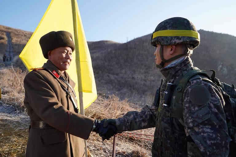 Ação conjunta das duas Coreias