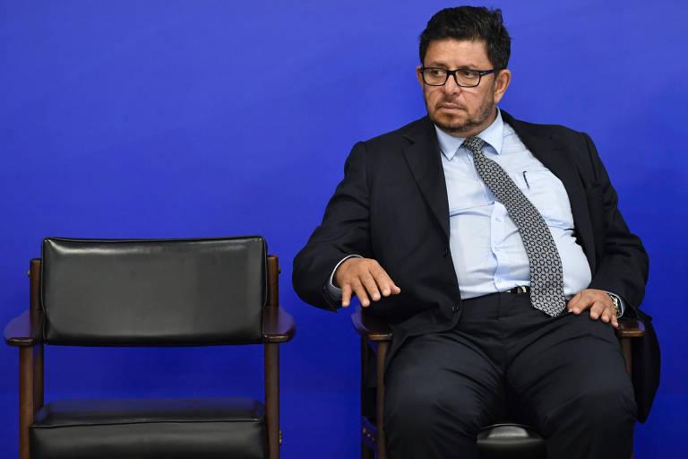 O deputado Fábio Ramalho (MDB-MG) em cerimônia no Palácio do Planalto, em janeiro deste ano