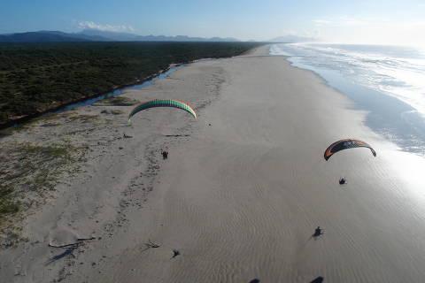 *** PARRKKE ***  Parque Nacional do Superagui está localizado no litoral norte do estado do Paraná, no município de Guaraqueçaba. Credito Victor Carvalho / /ICMBio