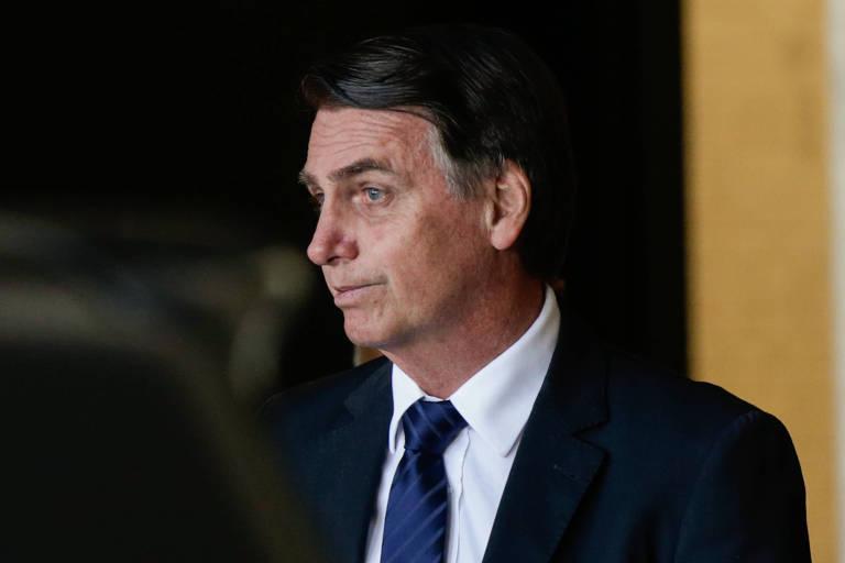 O presidente eleito, Jair Bolsonaro; ele deu aval à medida de Michel Temer