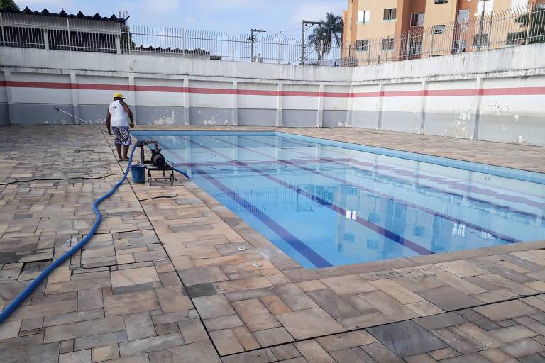 Problemas em piscinas públicas de São Paulo