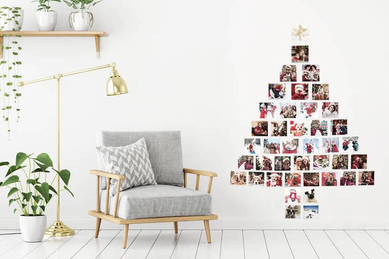 Árvore de Natal de cara nova