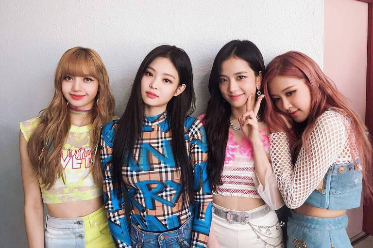 O grupo de k-pop Blackpink