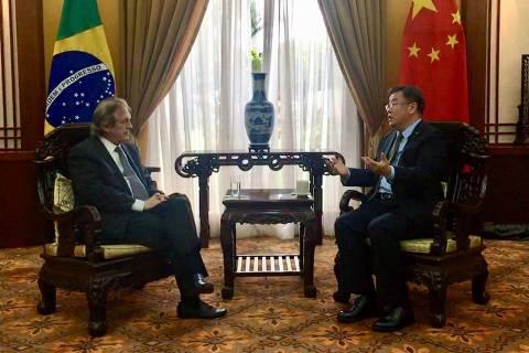 Presidente do PSL diz a chineses que relações com o país não vão acabar com Bolsonaro