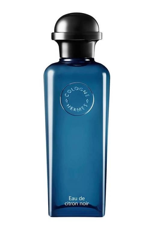 Perfume Eau de Citron Noir, da Hermès, por R$ 544, no shopping Iguatemi,  tel. 3034-6551. A fragrância é um dos diversos lançamentos cítricos da indústria da perfumaria de nicho em 2018