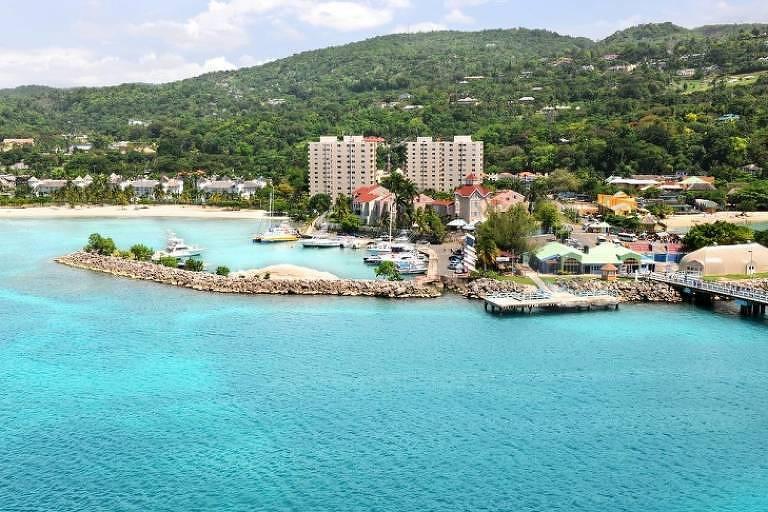 As praias da Jamaica