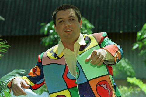 O humorista Bussunda, um dos apresentadores do programa de televisão Casseta & Planeta. Rio, 11.11.98, foto: Publius Vergilius/Folha Imagem  ***FOTO DE USO EXCLUSIVO FOLHAPRESS***