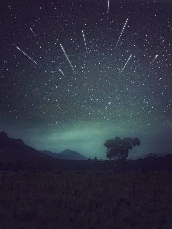 Chuva de meteoros geminídeos
