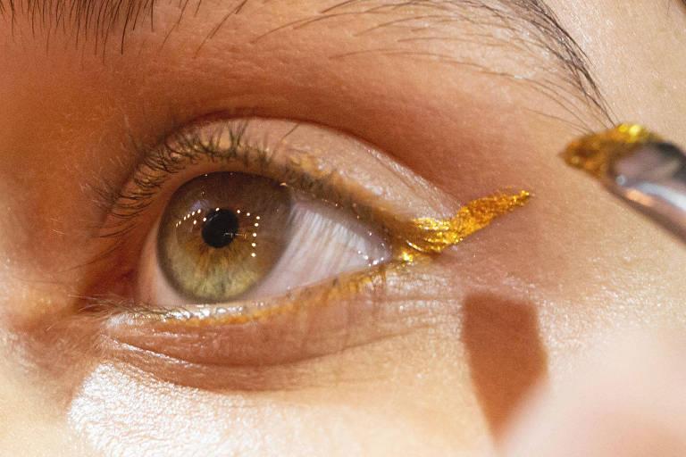 As diferentes maquiagens no SPFW