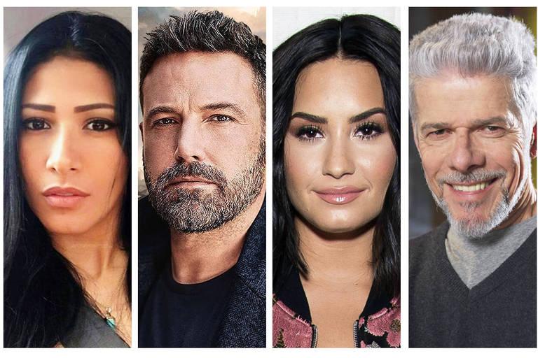 Celebridades sofreram com problemas de saúde em 2018 - Simaria, Ben Affleck, Demi Lovato e Jose Mayer
