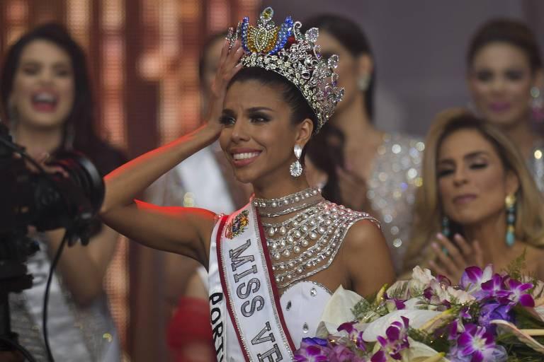 Concurso Miss Venezuela faz versão enxuta e coroa jovem nascida em favela