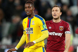 Premier League - West Ham United v Crystal Palace