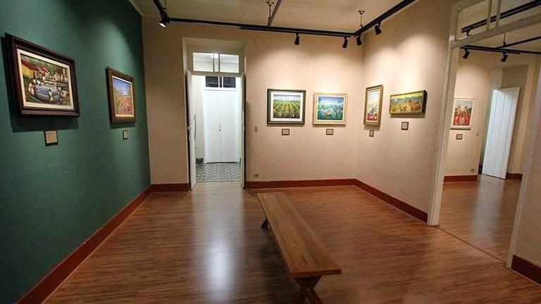 Exposição na Pinacoteca de Mogi das Cruzes  vai até o dia 31/1