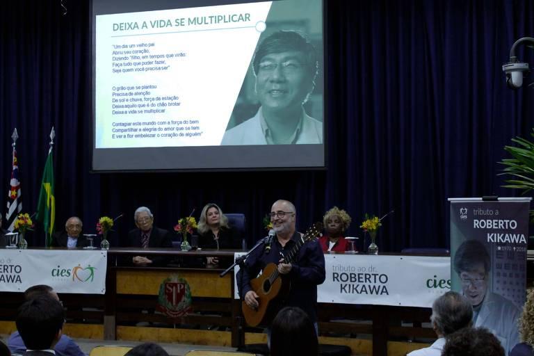Homenagem ao médico Roberto Kikawa realizada na segunda-feira (10), na Alesp