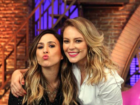 "Tatá Werneck convidou Paolla Oliveira para gravar último episódio da temporada de ""Lady Night"""
