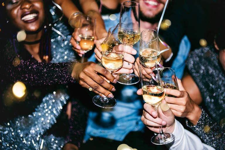 Equilíbrio na bebida é uma das formas de passar as festas de forma tranquila