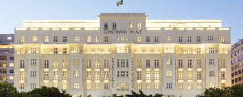 Rio de Janeiro, RJ, Brasil, 10-07-2015: Fachada do hotel Copacabana Palace, localizado na Av. Atlântica, 1702 - Copacabana, Rio de Janeiro. (foto Gabriel Cabral/Folhapress)
