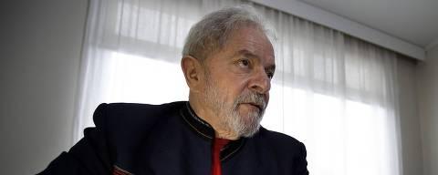 SÃO PAULO, SP, BRASIL, 28.01.2018 - O ex-presidente Luiz Inácio Lula da Silva (PT) durante entrevista exclusiva à Folha, realizado no Instituto Lula, no bairro do Ipiranga, na zona sul de São Paulo (SP). (Foto: Marlene Bergamo/Folhapress) ORG XMIT: AGEN1802281444286614