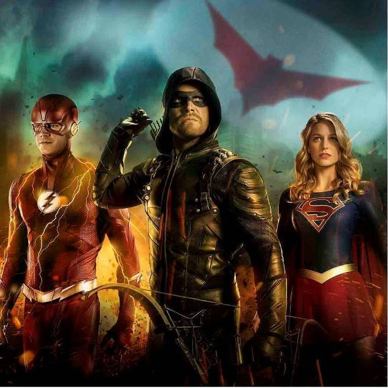 The Flash, Arrow e Supergirl