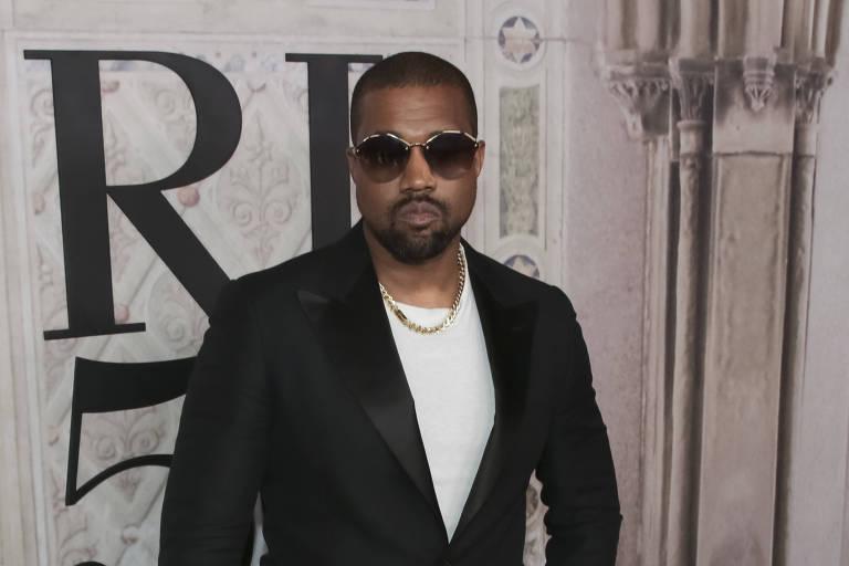 Kanye West durante evento em setembro, em Nova York
