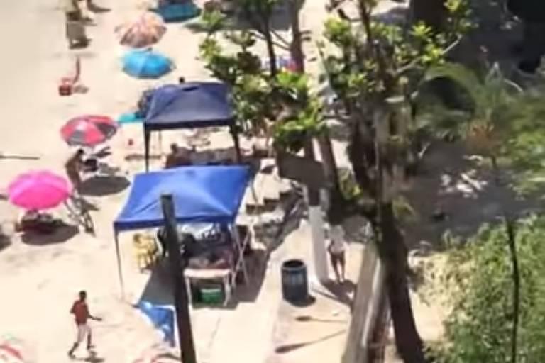 Assaltante foi morto na Praia dos Milionários, em São Vicente