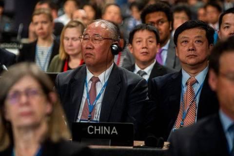 Xie Zhenhua, negociador-chefe da China nas conferências climáticas da ONU
