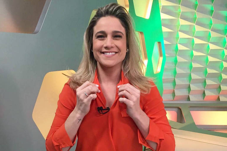Fernanda Gentil no Esporte Espetacular (Globo)