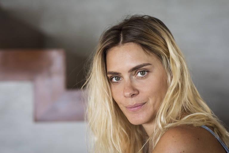 7e0fab2de A atriz Carolina Dieckmann, durante entrevista para a Folha, no Rio de  Janeiro