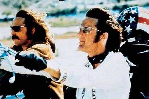 Dennis Hopper e Peter Fonda em