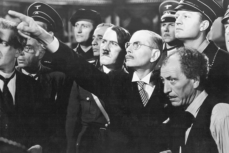 Cena do filme 'Ser ou Não Ser', de Ernst Lubitsch
