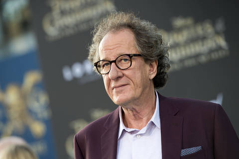 (FILES) In this file photo actor Geoffrey Rush attends the premiere of Disney's and Jerry Bruckheimer Films