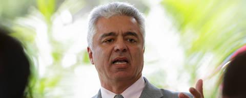 BRASILIA, DF, BRASIL, 11-12-2018, 16h20: O senador eleito pelo PSL, Major Olímpio, falou com a imprensa na tarde desta terça-feira (11)Foto: Walterson Rosa/Folhapress, PODER)