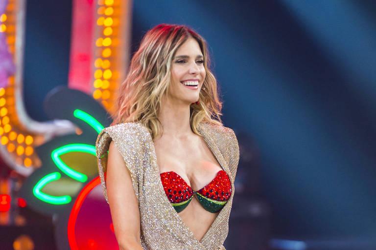 Fernanda Lima, apresentadora de Amor e Sexo