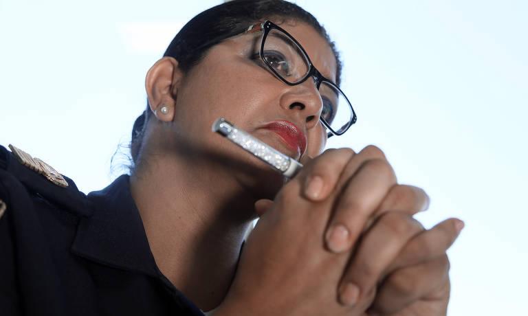 Inspetora Elza é a guardiã das mulheres vítimas de violência doméstica